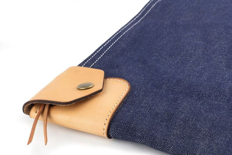 heddels winter session collaboration collab long john blog denim jeans bag bank bag platform winter 2016 limited edition cone mills fabric usa selvage selvedge (3)