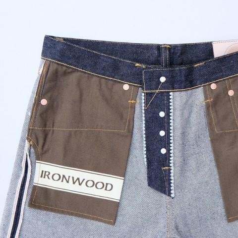 hoya apparel long john blog jeans denim indonesia blue rigid raw unwashed cone mills 13.5oz handmade machinery clothing spijkerbroek blauw 5 pocket selvage selvedge (3)