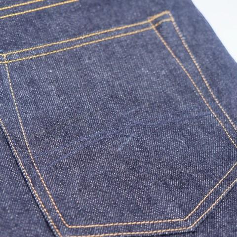 hoya apparel long john blog jeans denim indonesia blue rigid raw unwashed cone mills 13.5oz handmade machinery clothing spijkerbroek blauw 5 pocket selvage selvedge (4)