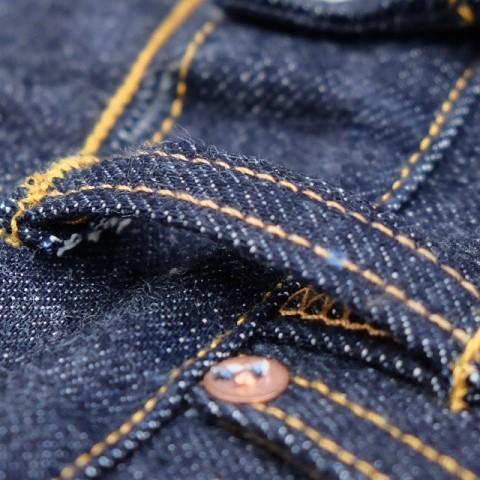hoya apparel long john blog jeans denim indonesia blue rigid raw unwashed cone mills 13.5oz handmade machinery clothing spijkerbroek blauw 5 pocket selvage selvedge (9)