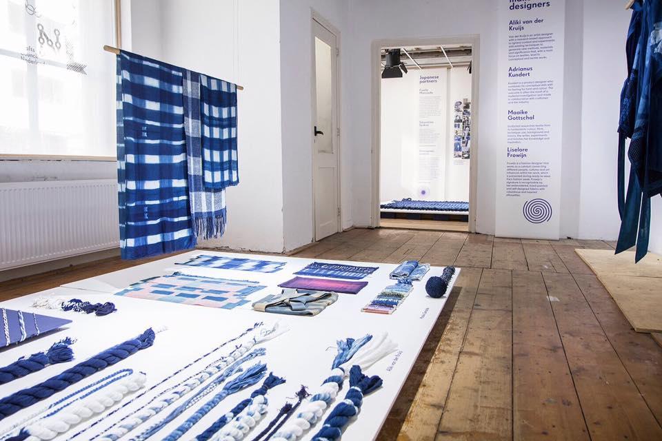 indigo-expo-dutch-design-week-long-john-blog-crafts-council-nederland-japan-2016-blue-handmade-dyed-indigodyed-natural-carpet-gloves-jeans-denim-authentic-2