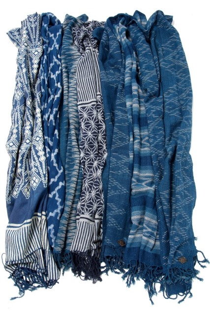 indigo people spring 2017 summer longjohnblog long john indigo blue scarf scarves kiat ikat handloom shuttle loom handmade natural indigo patterns (7)