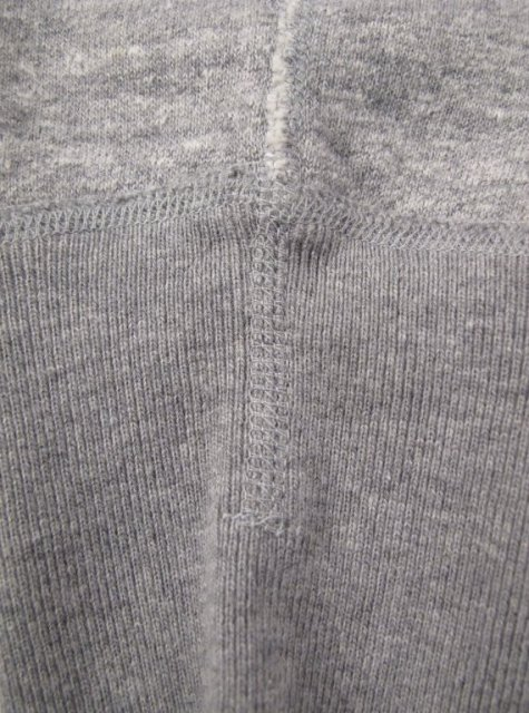 iron heart long john blog uk Heavy Loopwheeled Crew Neck Sweat sweater grey classic denim jeans blue rigid selvage selvedge chain stich cuffs usa american  ironheart  (2)