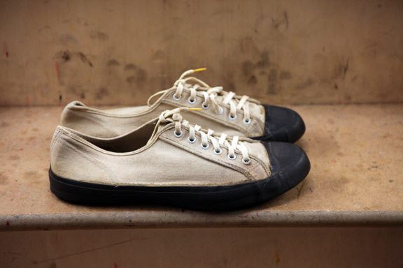 jack purcell 1935 long john blog converse all star usa badminton shoe footwear sneakers sneaker vintage rare 1940 sport tennis canvas rubber smile smiley laces us army (3)