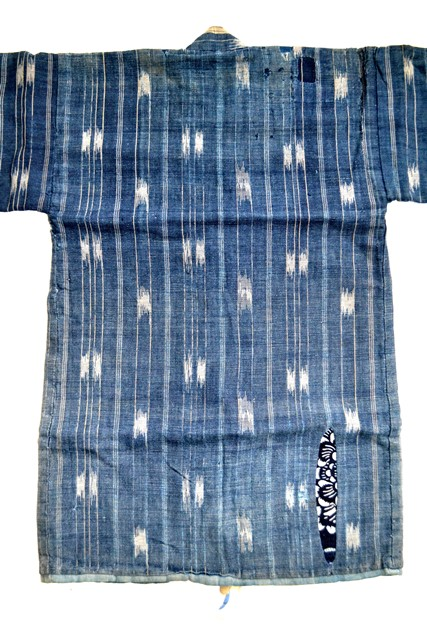 japan kimono longjohnblog long john blue indigo vintage authentic traditional naturalindigo handmade craftsmanship 1930 (11)