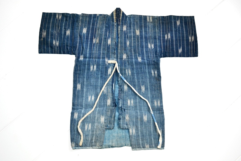 japan kimono longjohnblog long john blue indigo vintage authentic traditional naturalindigo handmade craftsmanship 1930 (3)