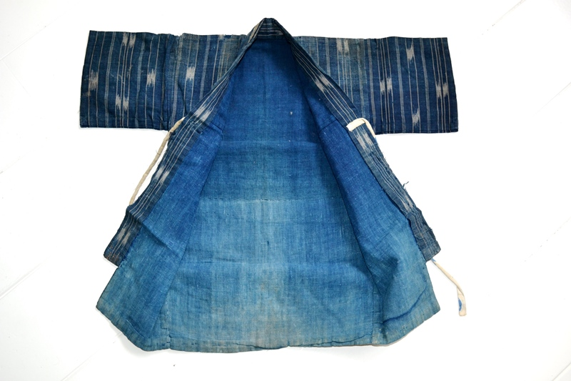 japan kimono longjohnblog long john blue indigo vintage authentic traditional naturalindigo handmade craftsmanship 1930 (7)