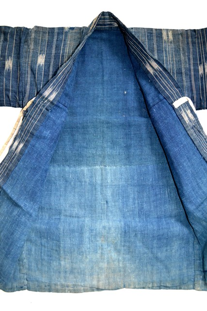 japan kimono longjohnblog long john blue indigo vintage authentic traditional naturalindigo handmade craftsmanship 1930 (8)
