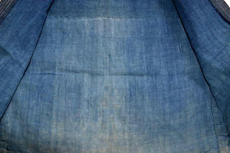 japan kimono longjohnblog long john blue indigo vintage authentic traditional naturalindigo handmade craftsmanship 1930 (9)
