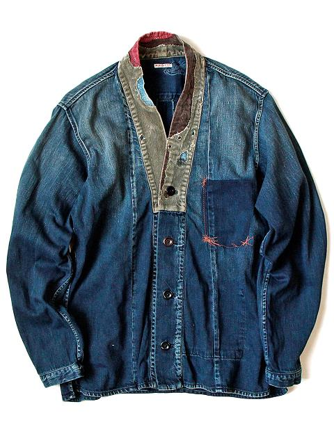 kapital japan long john blog denim jeans shirts jackets jack boro sashiko stitching embroidery handmade blue indigo spring summer 2016 (1)