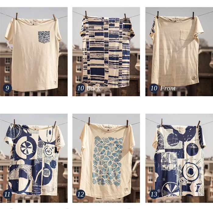 kurt kurt's amsterdam long john sebastian sebastiaan gerittsen hemp tshirts shirts t-shirts print printed indigo blue blauw handmade portugal made silk screen limited edition kickstarter 2015 (25)