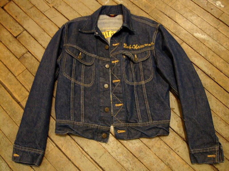 lee jeans 101-J jacket long john blog authentic blue indigo denim selvage yellow gold label selvedge usa western americana usa patched repair biker bikers cowboy miners (6)