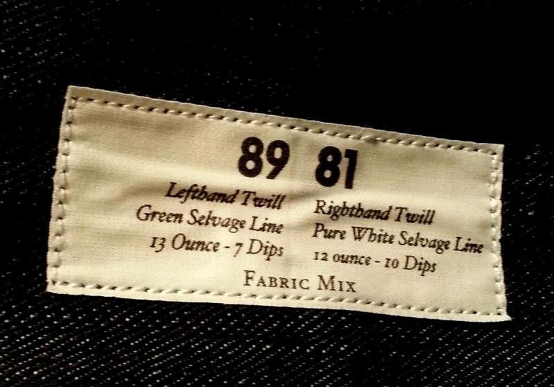 lee jeans 101 mix fabric long john blog special edition peter christ middelburg pol houtkamp blue rigid selvage green worker jacket usa americana plain selvedge  (4)