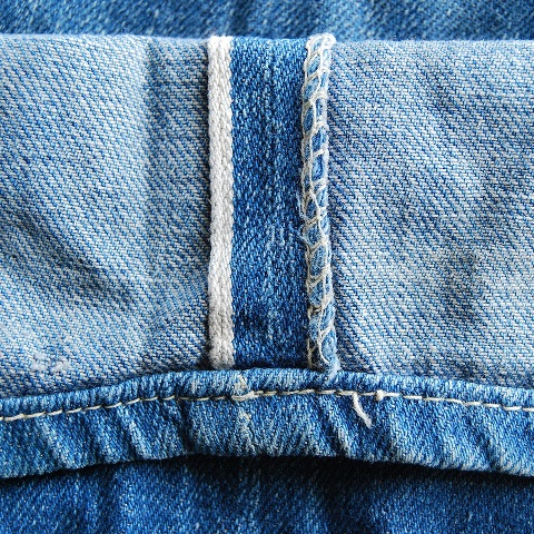 lee jeans vintage long john blog blue denim jeans ragtop clothing market david white 1945 selvage selvedge patch label needle spijkerbroek oud versleten blauw inseam pocket 5 pocket rivet rivets (4)