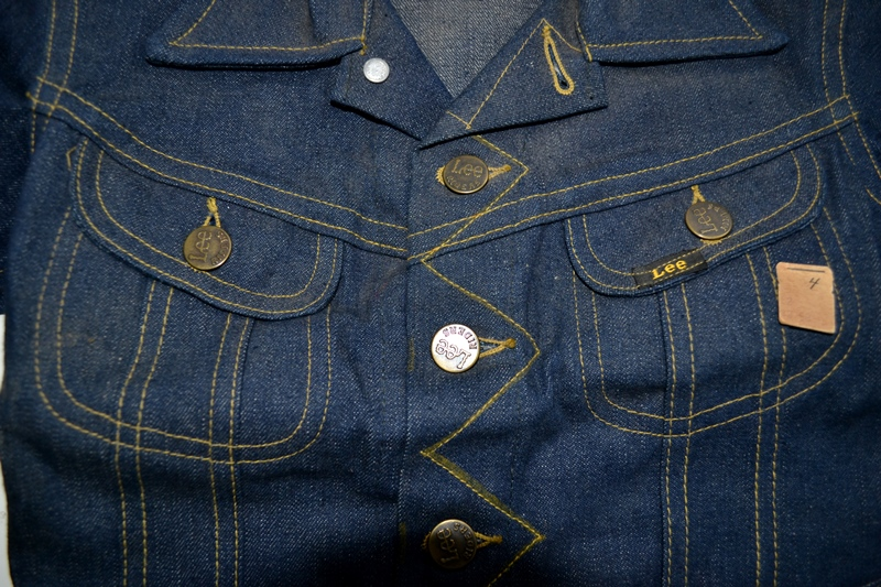 lee jeans vintage long john blog rider riders jacket union made sanforized original usa us made denim jeans deadstock (3)