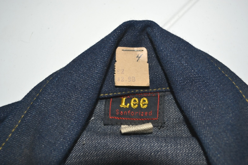 lee jeans vintage long john blog rider riders jacket union made sanforized original usa us made denim jeans deadstock (4)