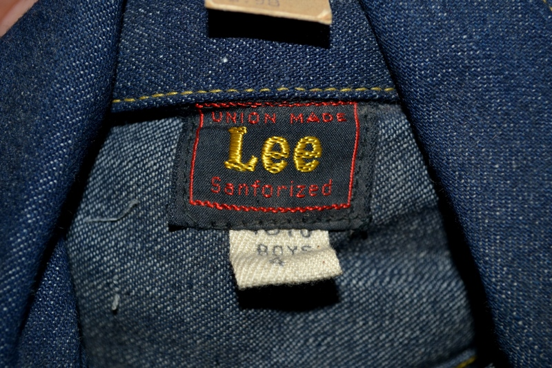 lee jeans vintage long john blog rider riders jacket union made sanforized original usa us made denim jeans deadstock (5)