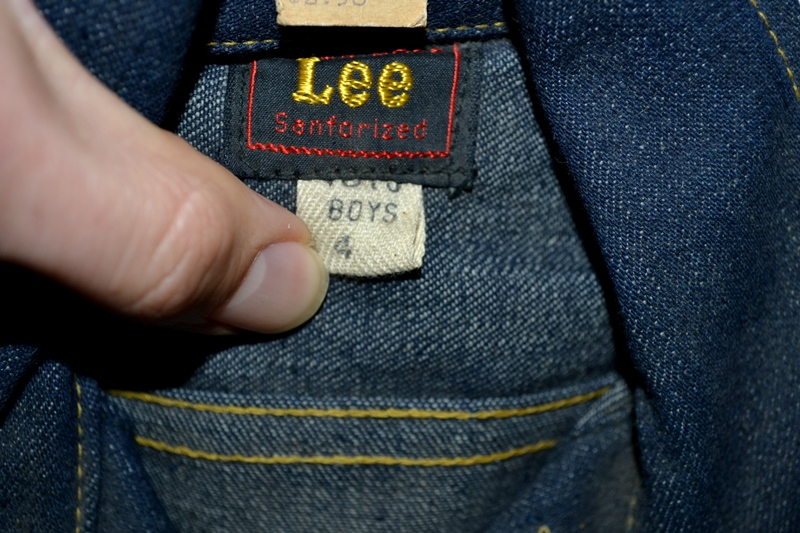 lee jeans vintage long john blog rider riders jacket union made sanforized original usa us made denim jeans deadstock (6)