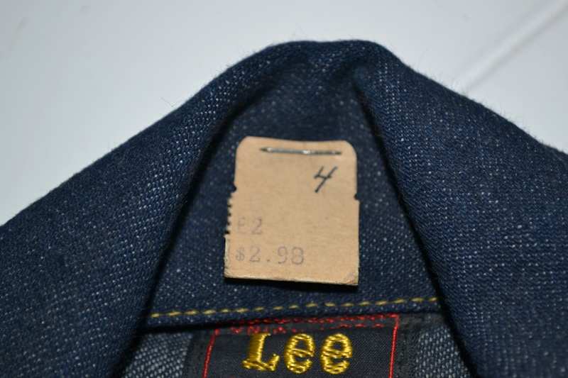 lee jeans vintage long john blog rider riders jacket union made sanforized original usa us made denim jeans deadstock (7)