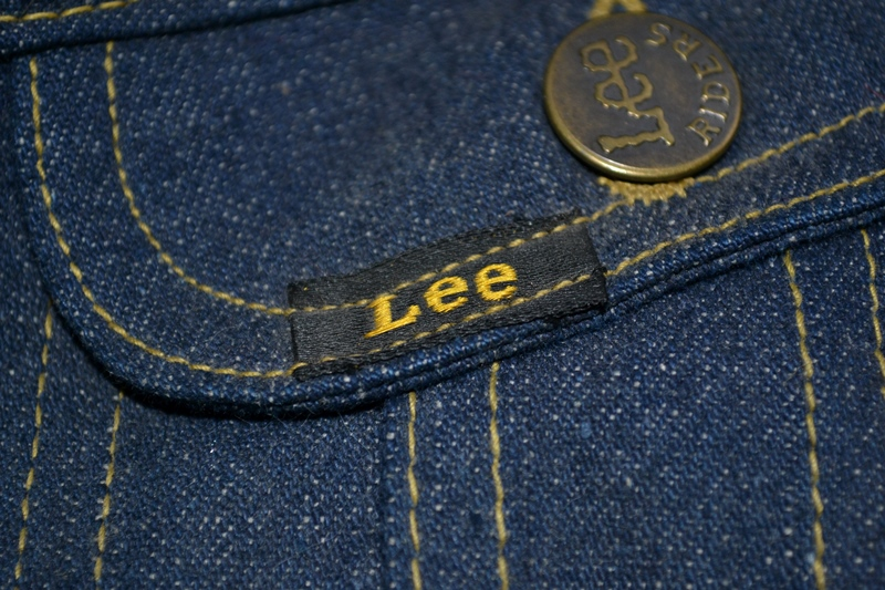 lee jeans vintage long john blog rider riders jacket union made sanforized original usa us made denim jeans deadstock (8)