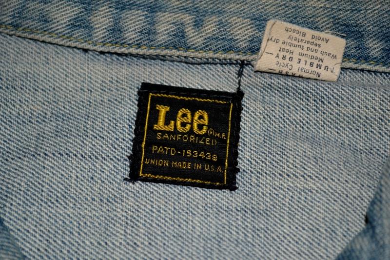 lee jeans vintage rider jack jacket long john blog blue rigid raw washed oud origineel original blue rigid raw selvage selvedge chainstich authentic usa blauw spijkerjas (10)
