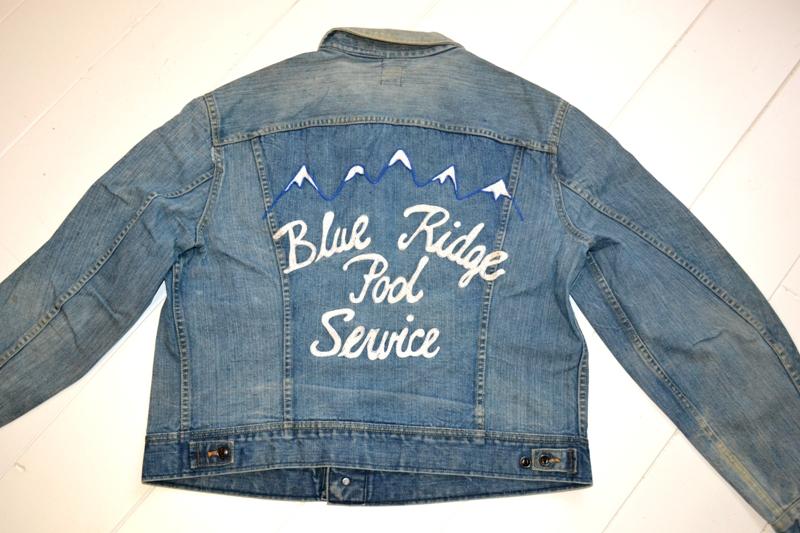 lee jeans vintage rider jack jacket long john blog blue rigid raw washed oud origineel original blue rigid raw selvage selvedge chainstich authentic usa blauw spijkerjas (2)
