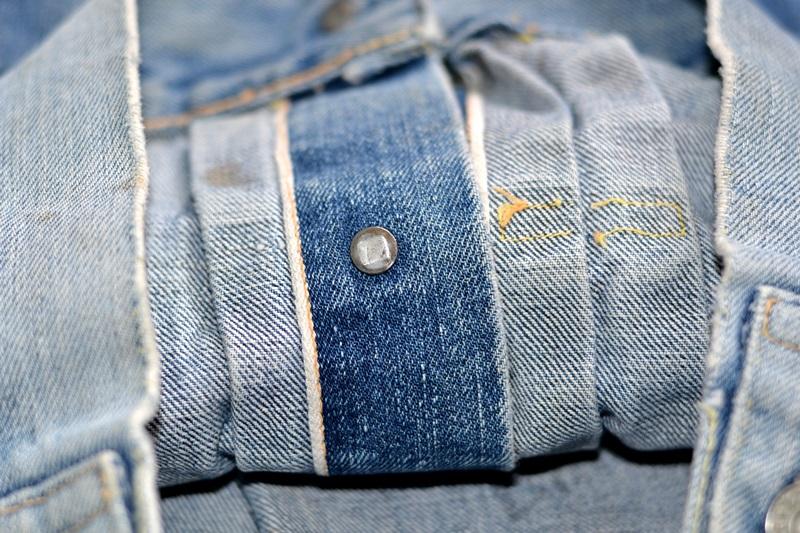 levi's 507XX kids jeans jacket jack long john blog etch a sketch member patch vintage original blue indigo type 2 usa made cone mills rivet rivets buttons (11)