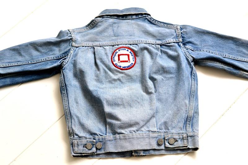levi's 507XX kids jeans jacket jack long john blog etch a sketch member patch vintage original blue indigo type 2 usa made cone mills rivet rivets buttons (12)