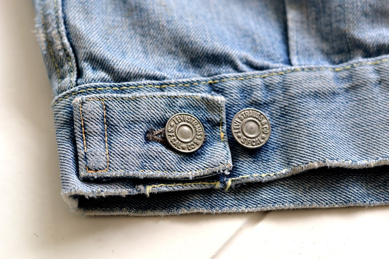 levi's 507XX kids jeans jacket jack long john blog etch a sketch member patch vintage original blue indigo type 2 usa made cone mills rivet rivets buttons (14)