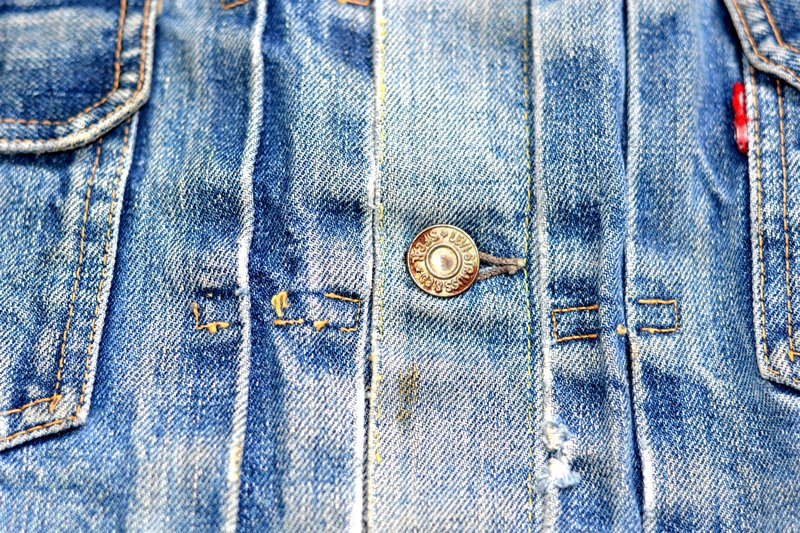 levi's 507XX kids jeans jacket jack long john blog etch a sketch member patch vintage original blue indigo type 2 usa made cone mills rivet rivets buttons (5)