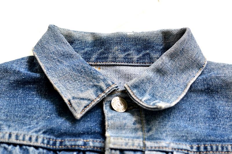 levi's 507XX kids jeans jacket jack long john blog etch a sketch member patch vintage original blue indigo type 2 usa made cone mills rivet rivets buttons (6)