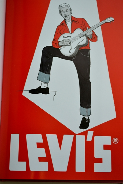 levi's vintage clothing lvc long john blog levi strauss lookbook book spring summer 15 2015 rock and roll bowling jeans denim spijkerbroek catalogus usa made cone mills red tab music  (13)