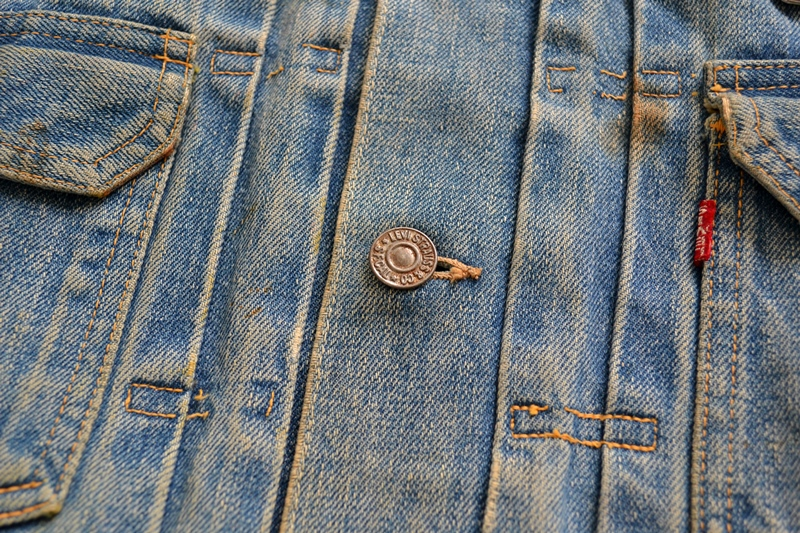 levi's vintage long john blog 507XX jack jacket type 2 1950 big e bige red tab worn-out original bleu inidgo usa america selvage selvedge buttons rock and roll elvis james dean (8)