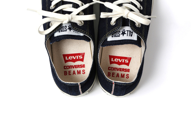 levis-x-converse-denim-all-stars-for-beams-long john blog white oak denim selvage jeans sneaker 2015 collab special edition japan exclusive usa stores store (2)