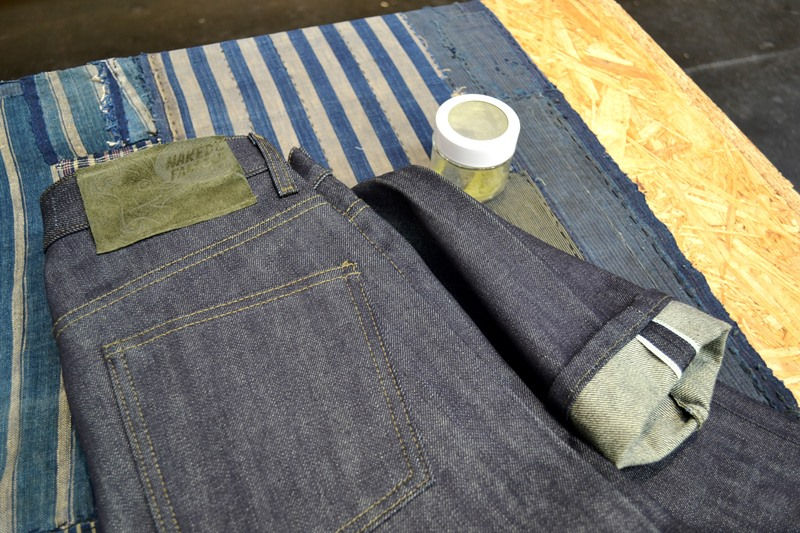 naked and famous long john blog jeans denim blue indigo seek fair berlin 2016 selvage selvedge limited edition japan canada risa  (2)
