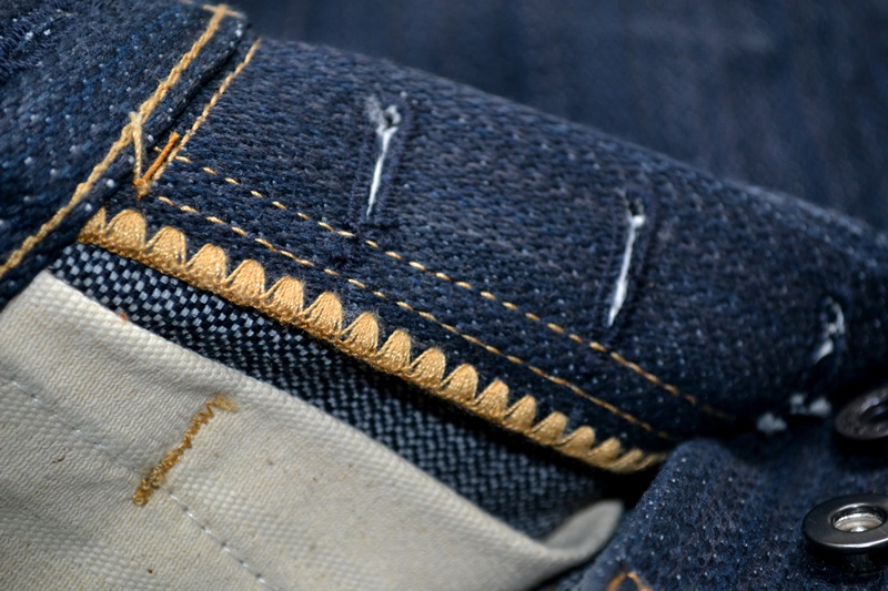 nobrandedon aryan pandaam raafi long john blog handwoven handspun natural indigo jeans denim broken twill redline selvage indonesia limited edition sashiko patch handmade (20)