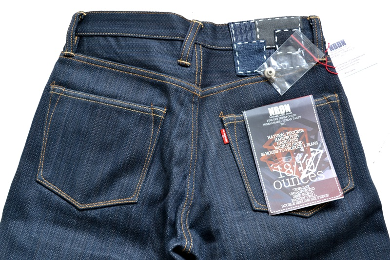 nobrandedon aryan pandaam raafi long john blog handwoven handspun natural indigo jeans denim broken twill redline selvage indonesia limited edition sashiko patch handmade (21)