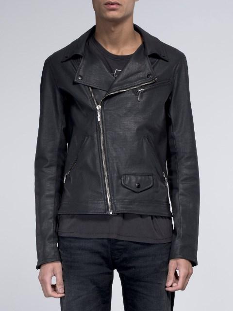nudie jeans sixten punk jacket long john blog denim jeans bikers biker sweden coated denim jeans black blue indigo new collection 2015 maria  (1)