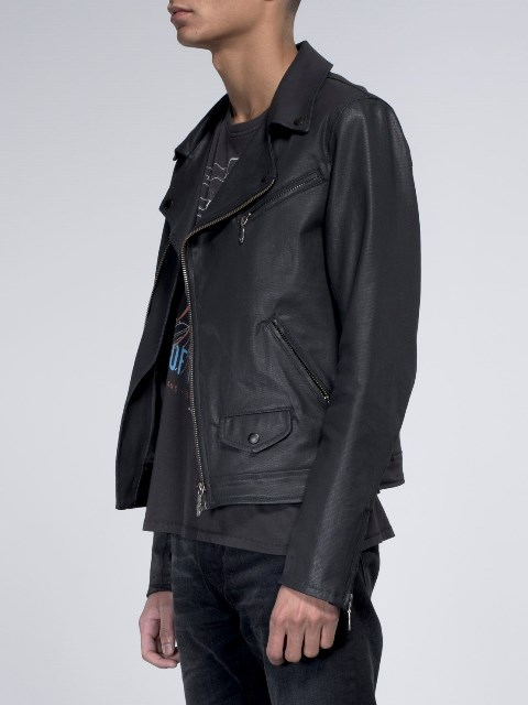 nudie jeans sixten punk jacket long john blog denim jeans bikers biker sweden coated denim jeans black blue indigo new collection 2015 maria  (3)