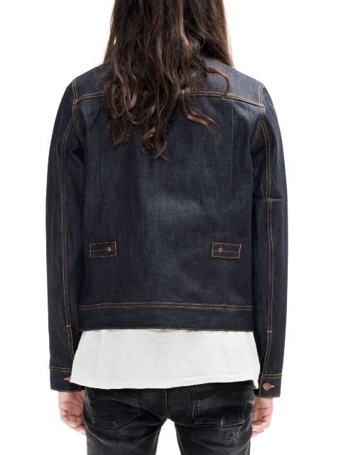 nudie jeans sonny dry ring denim long john blog denim rigid raw unwashed selvage selvedge blue indigo jacket jack sweden  (2)