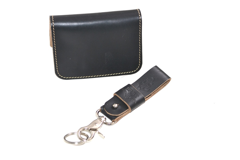obbi good label long john wallet keyfob natural tanned leather products collab collaboration limited edition sale special price aged ageing virgin leer  (2)