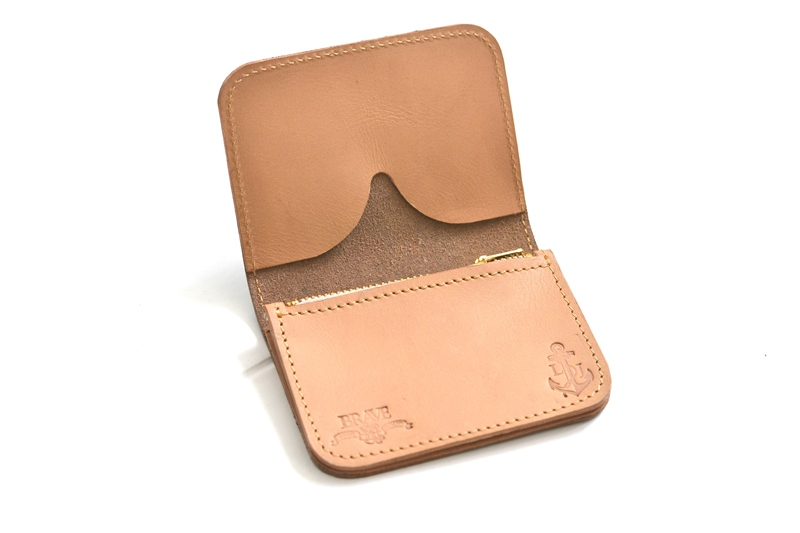 obbi good label long john wallet keyfob natural tanned leather products collab collaboration limited edition sale special price aged ageing virgin leer  (5)