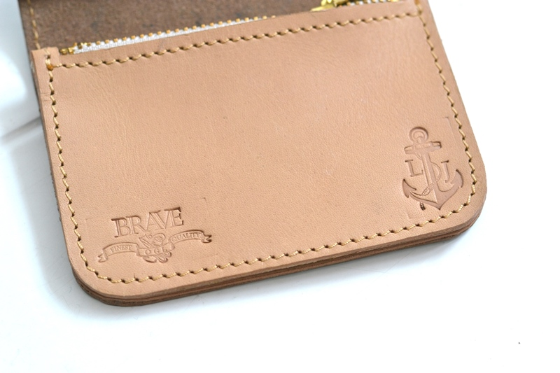 obbi good label long john wallet keyfob natural tanned leather products collab collaboration limited edition sale special price aged ageing virgin leer  (6)