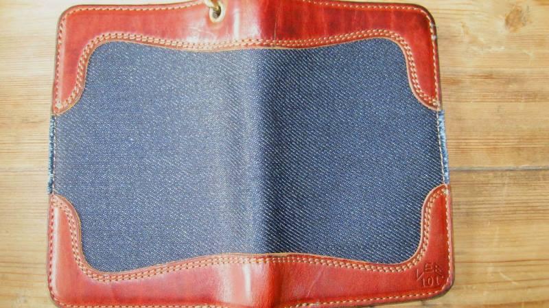 pol houtkamp lee 101 wallet 23oz worn-out long john blog denim jeans selvage selvedge blue indigo leather ageing aged oud geworden spijkerbroek marketing specialist events expo  (2)