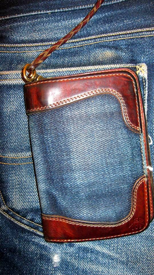 pol houtkamp lee 101 wallet 23oz worn-out long john blog denim jeans selvage selvedge blue indigo leather ageing aged oud geworden spijkerbroek marketing specialist events expo  (5)