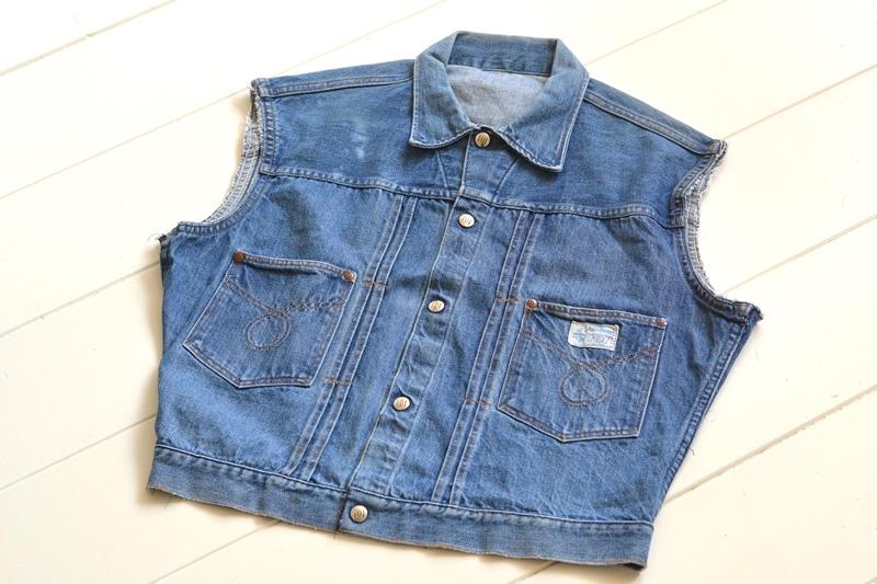 power house 101 powr house long john blog jeans jacket jack denim vintage 1960 montgomery ward authentic original denimheads blue indigo worn-out wornout faded (2)