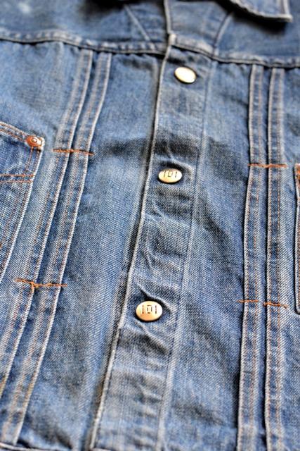 power house 101 powr house long john blog jeans jacket jack denim vintage 1960 montgomery ward authentic original denimheads blue indigo worn-out wornout faded (7)