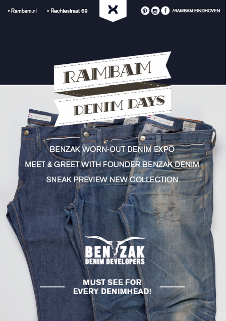 rambam denim days eindhoven store shop long john blog jeans denim benzak denim developers rigid worn-out selvage selvedge spijkerbroek blauw event winkel event bdd (2)