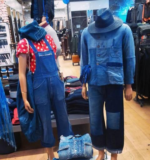 rambam denim days long john blog jeans indigo event store winkel retail fair evenement eindhoven holland nederland facing west spijkerbrij re-use workwear spijkerbroeken blue blauw (2)