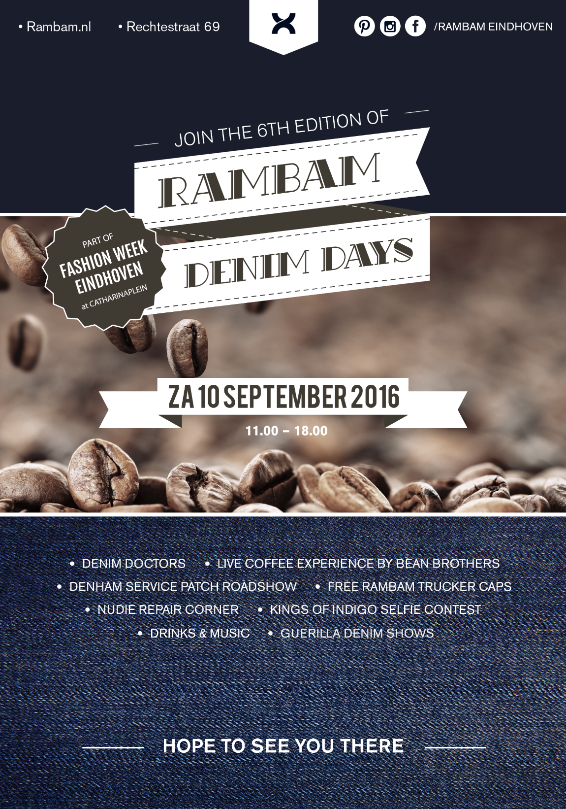 rambam store winkel eindhoven long john blog denim days 2016 september blue denham kings of indigo nudie jeans (2)